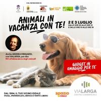 AL VIA LA CAMPAGNA CONTRO L'ABBANDONO DEGLI ANIMALI CON UN TESTIMONIAL D'ECCEZIONE ANDREA MINGARDI
