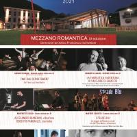 Al via l'XI edizione di Mezzano Romantica - In cartellone 6 spettacoli a ingresso libero dall' 8 luglio al 24 agosto