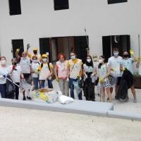 Volontari attivi nel quartiere San Valentino