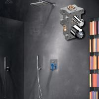 Gamma Gbox di Gattoni Rubinetteria. Le soluzioni universali da incasso per doccia e lavabo