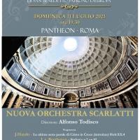 La Nuova Orchestra Scarlatti di Napoli in concerto al Pantheon
