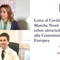 Lotta al Covid, l'Azienda Ospedaliera Marche Nord si dota del robot ad ultravioletti grazie alla Commissione Europea