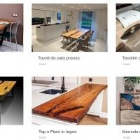 Il segreto del fantastico universo dei tavoli in legno e resina Luxtable