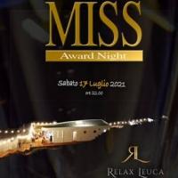 """""""Ditutto Miss Award Night 2021"""", il 17 Luglio 2021 il tacco d'Italia si tinge di fashion con la notte delle Miss"""