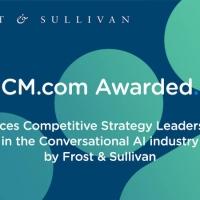 CM.com premiata da Frost & Sullivan per il livello superiore delle sue esperienze di conversazione