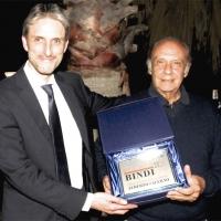 """Alberto Salerno ha ricevuto il Premio Bindi """"Artigianato della Canzone"""""""