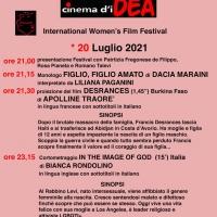Si concludono il 20 luglio le tre giornate di eventi dedicate al Cinema D'Idea