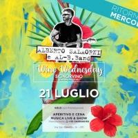 Alberto Salaorni & Al-B.Band live al Signorvino Affi (VR) il 21 luglio