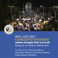 """Stienta per una notte """"capitale del pop"""" con il Maestro Diego Basso"""