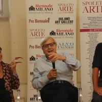 Spoleto Arte: Salvo Nugnes, Vittorio Sgarbi e tanti altri all'inaugurazione della mostra internazionale