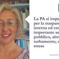La PA si impegni di più per la trasparenza interna ed esterna, importante servizio pubblico, altro che turbamento, ansia e stress