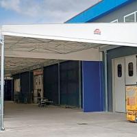 La RemaTarlazzi SpA, azienda leader nella distribuzione di materiale elettrico, sceglie i tunnel mobili di Adriatica Chiusure per ampliare i propri spazi.