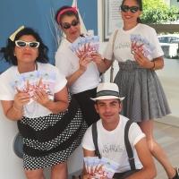 Volontari al Summer Jamboree con La Via della Felicità in stile Vintage