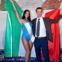 """-Mariglianella, Prima Finale Regionale di Miss Italia con Erika De Marino  vincitrice del titolo di """"Miss Sorriso Campania 2021""""."""
