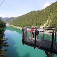 Trentino – Val Noana, angolo magico del Primiero. Il brivido del canyoning, le passerelle panoramiche, il ponte tibetano e il Sentiero degli Abeti Giganti