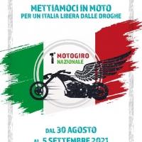 A fine agosto il primo Motogiro nazionale contro la droga
