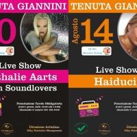 Nathalie Aarts e Haiducii: eventi live il 10 e 14 agosto alla Tenuta Giannini in Puglia