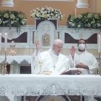 -Brusciano, In tempo di Pandemia l'essenziale messa per Sant'Antonio di Padova di inizio Festa dei Gigli 2021. (Scritto da Antonio Castaldo)