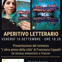 Aperitivo letterario con Francesca Cappelli