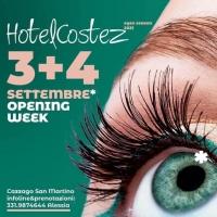 Hotel Costez – Cazzago (BS): Opening Week il 3 ed il 4 settembre '21