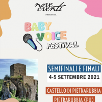 Domenica 5 settembre si terrà a Pietrarubbia la finale del Baby Voice Festival!