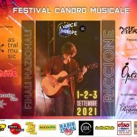 Iniziano a Riccione le fasi finali nazionali del festival internazionale A VOICE FOR EUROPE - Una voce per l'Europa!
