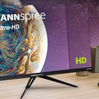 I nuovi monitor a grande schermo Ultra-HD 4K di HANNspree offrono una straordinaria nitidezza delle immagini