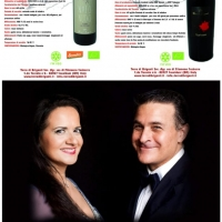 Olga De Maio soprano e Luca Lupoli tenore, testimonial per la solidarietà di Terra di Briganti