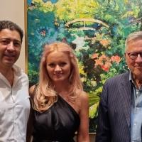 Alla mostra curata da Salva Nugnes di Maria Jarda ospite a sorpresa Paolo Liguori, direttore del TGCOM.