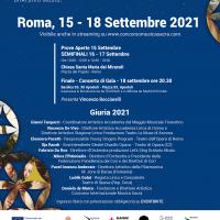 L'attore Vincenzo Bocciarelli confermato per la seconda volta alla conduzione del Concorso Internazionale Musica Sacra 2021