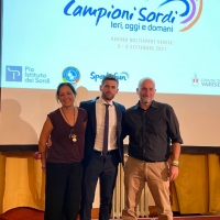 Gala Campioni Sordi, testimonial l'olimpionico Giovanni Improta