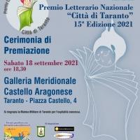 Cerimonia di Premiazione Premio Letterario Nazionale Città di Taranto