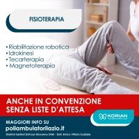 Fisioterapia convenzionata Poliambulatorio Serenissima