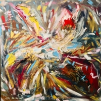 L'artista Milena Demartino in mostra alla Biennale d'Arte Contemporanea del Veneto con