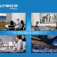 TECHLIT SCM: Soluzioni di Videoconferenze e allestimento sale meeting: far provare alle aziende come organizzare il nuovo modo di lavoro ibrido e come ottimizzare l'utilizzo degli spazi uffici