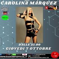 Il prossimo 7/10 Carolina Marquez è ospite di International Blog Web Tv
