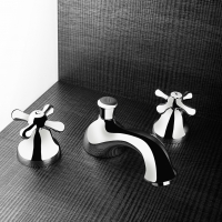 """""""C'era una volta il bagno"""". Serie Croce di Artis Rubinetterie"""