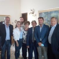 -Brusciano, il Sindaco Romano e il Sindaco di Nola Minieri omaggiano Tonino Giannino. (Scritto da Antonio Castaldo)