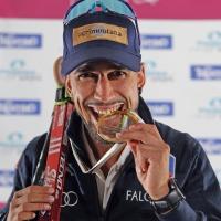 A Trento e sul Monte Bondone skiroll spettacolo con i campioni