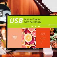 HANNspree introduce nuovi display multimediali di grandi dimensioni con USB Auto-Play per applicazioni commerciali