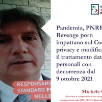 Pandemia, PNRR e Revenge porn impattano sul Codice privacy e modificano il trattamento dati personali con decorrenza dal 9 ottobre 2021