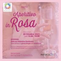 Donne e menopausa: Aperitivo in Rosa per informarsi e confrontarsi