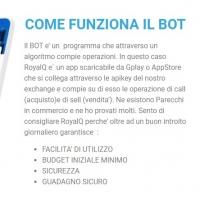 RoyalQ: il bot buy e sell sempre operativo per una rendita