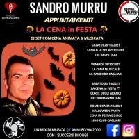 Per Sandro Murru Kortezman 4 dinner show da vivere ad Halloween 2021 a Cagliari