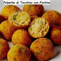 Come preparare le polpette di tacchino con formaggio fontina con preparazione e ingredienti