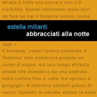 """""""Abbracciati alla notte"""" è il nuovo romanzo di Estella Milianti."""
