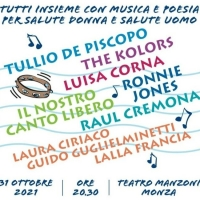Tullio De Piscopo, The Kolors e Luisa Corna a Monza per il concerto benefico organizzato da Salute Donna Onlus