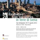 """Debutta la Randonnée """"Gran Tour Unesco"""" nelle Terre di Siena"""