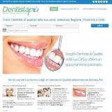 E' online DentistaPiù, il portale web per la ricerca dei dentisti qualificati in Italia.
