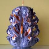 Presentazione candele di cera artistiche originali ed eleganti